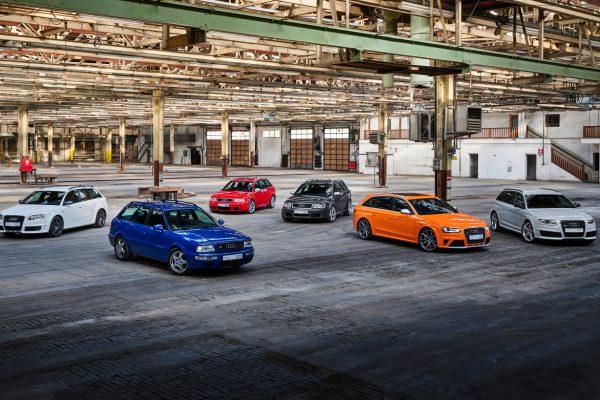 25 Jahre: Audi feiert seine RS-Modelle