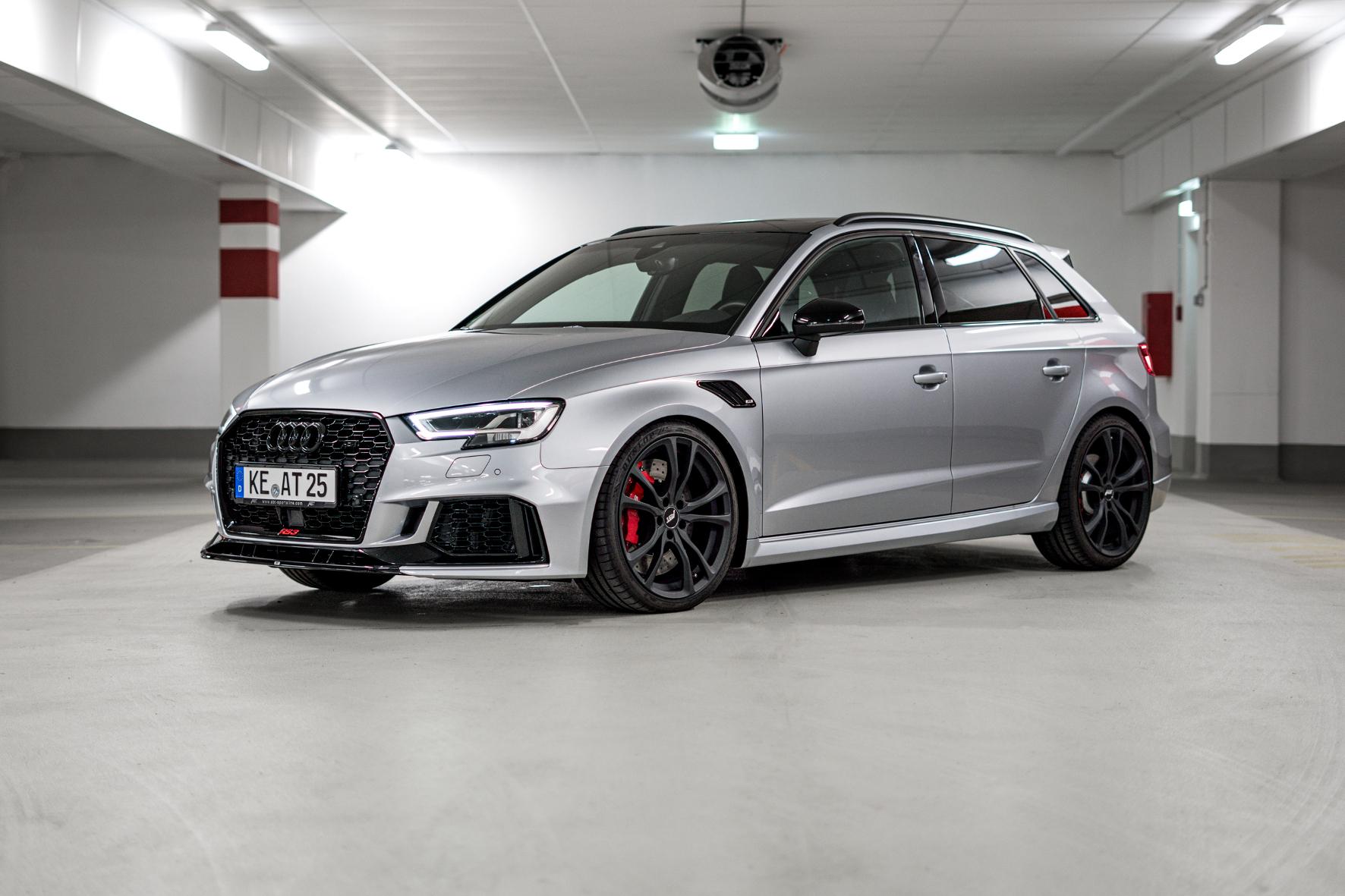 Den Audi RS3 gibt es dank Abt mit bis zu 470 PS.