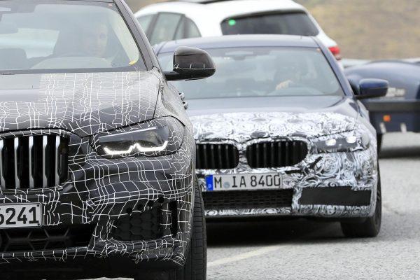 Erlkönig: BMW 5er Facelift