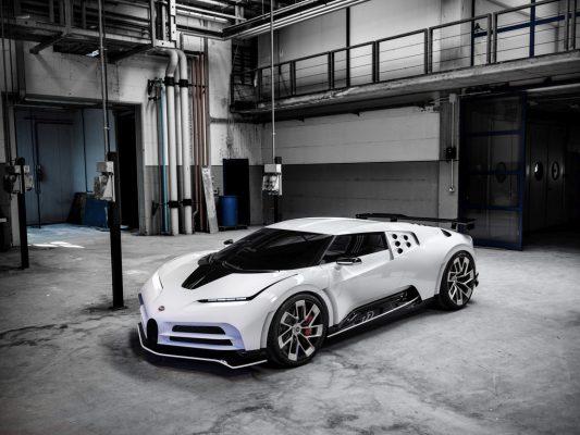 Der Bugatti Centrodieci schafft den Anschluss