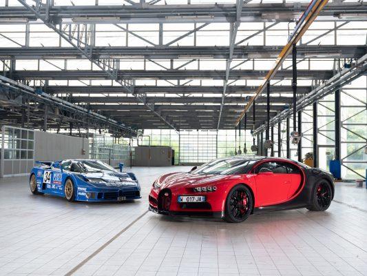 Bugatti-Historie: EB 110 und Veyron.