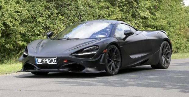 Erlkönig: McLaren 750 LT