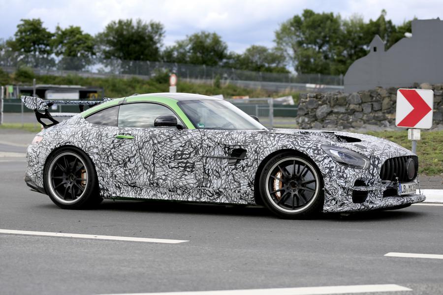Mercedes-AMG GT Black Series.
