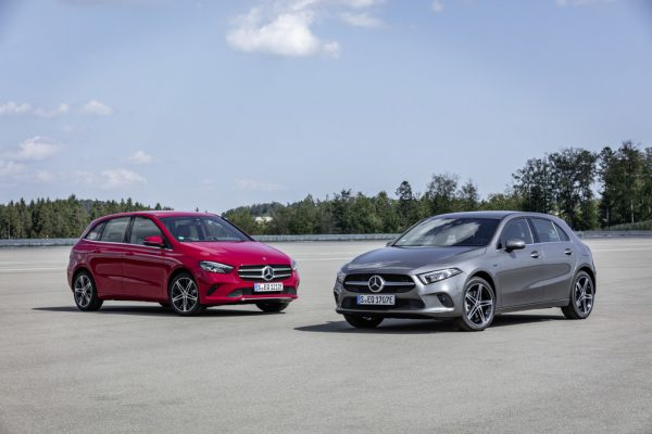 Mercedes-Benz A- und B-Klasse erstmals als Plug-in-Hybrid