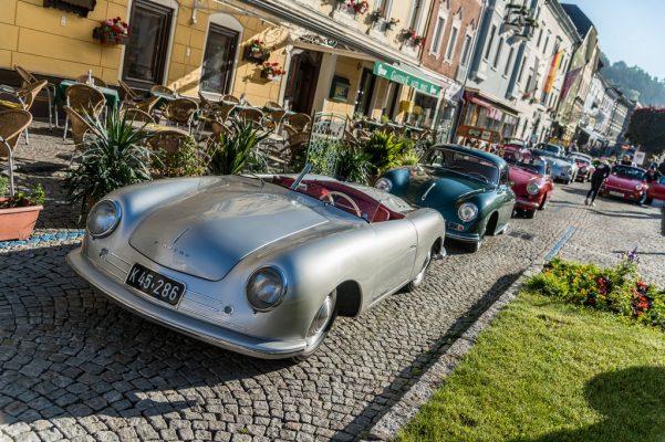 1950 begann die Produktion des Porsche 356