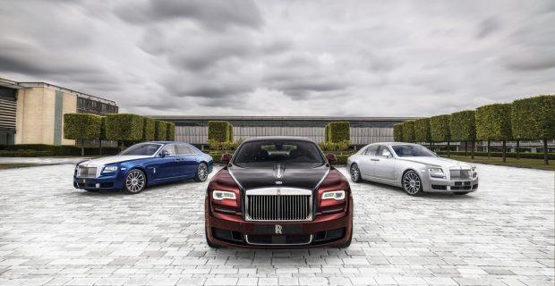 Rolls-Royce Ghost Zenith nimmt ein Stück geschmolzene Emily mit