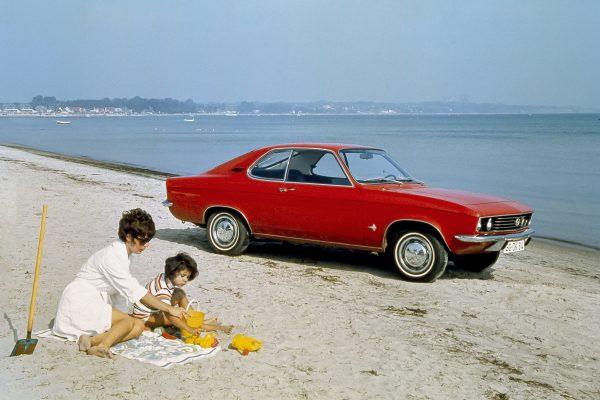 Der Opel Manta - ein Sportflitzer