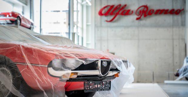 """Mythos Alfa Romeo"" im Technikmuseum Sinsheim"