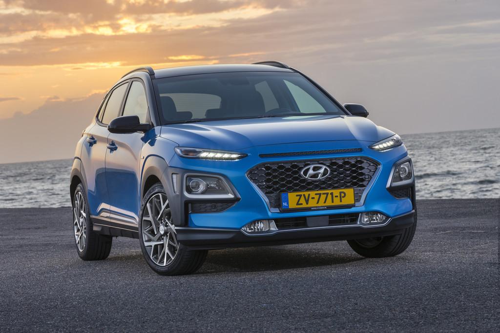 Hyundai Kona Hybrid.