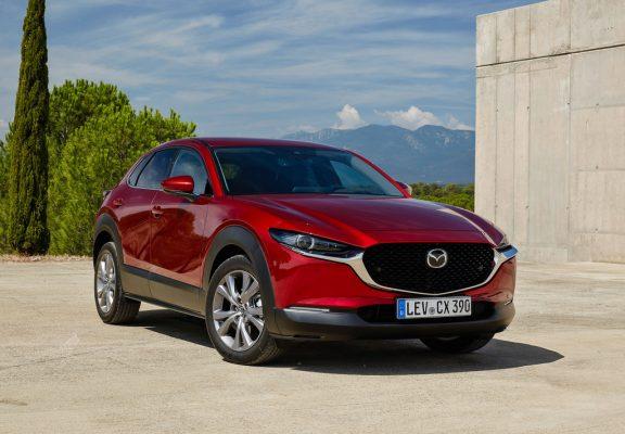 Mazda CX-30: Crossover mit neuartigem Motorkonzept
