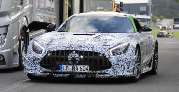 Erlkönig: Mercedes-AMG GT R Black Series