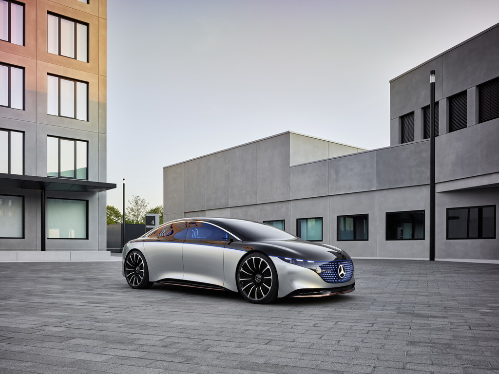 Mercedes-Benz Vision EQS.