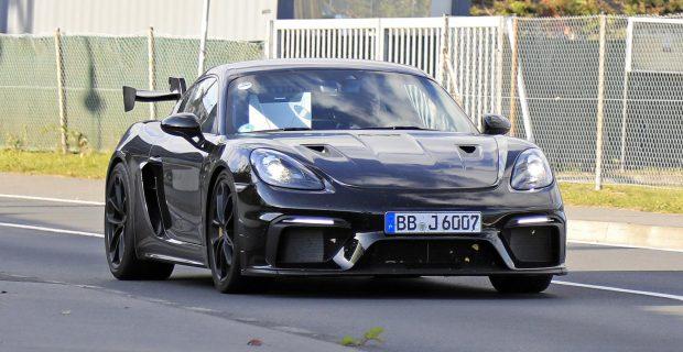 Erlkönig: Porsche 718 Cayman GT4 RS