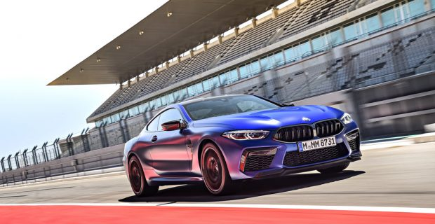 Luxussportler BMW M8 Competition