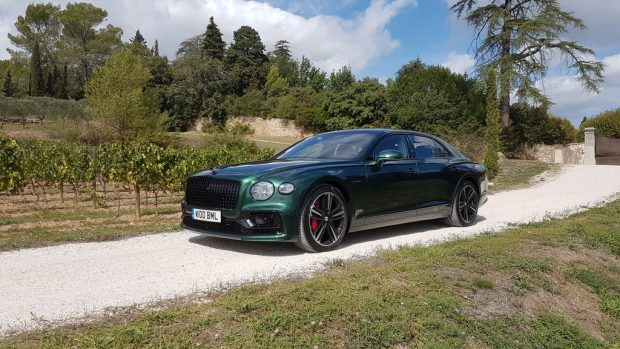 Bentley Flying Spur: Wo ist der beste Platz?