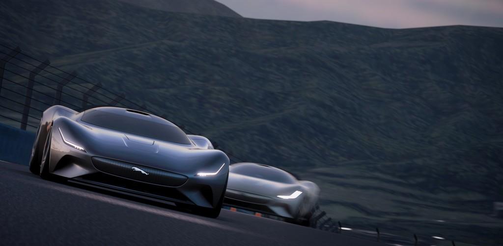 Für die Spielekonsole: Jaguar Vision GT Coupé.