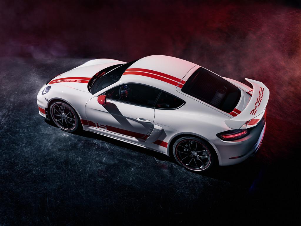Porsche 718 Cayman GT4 Sports Cup Edition.