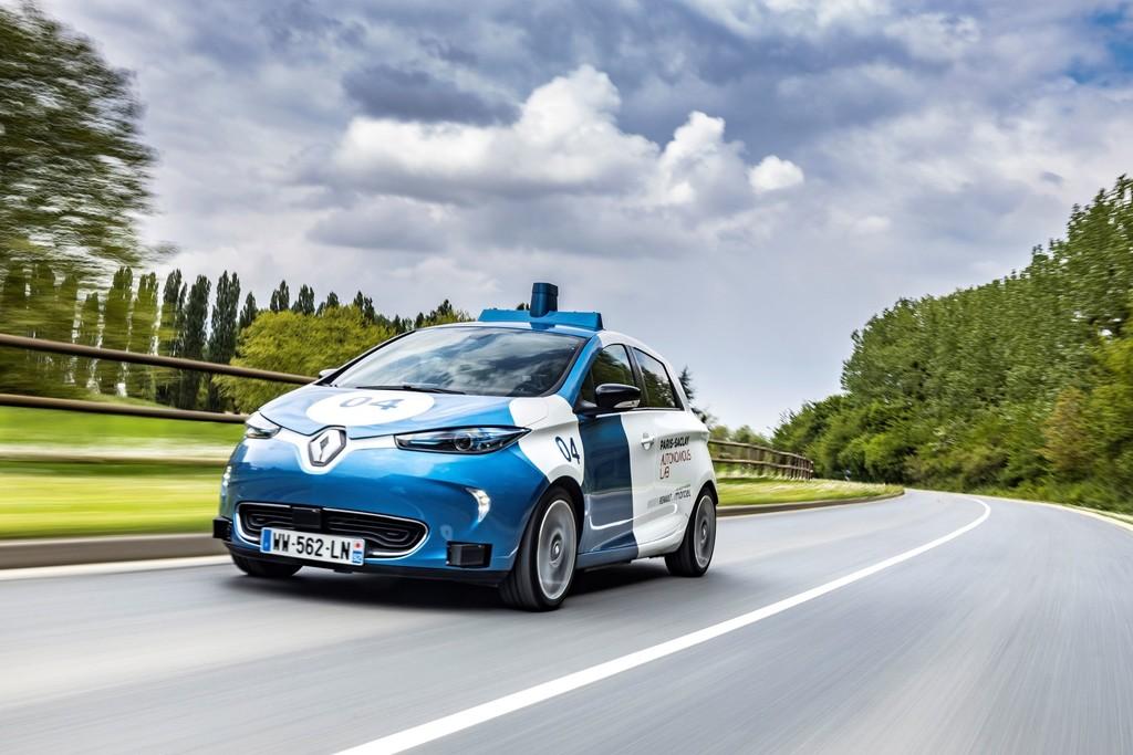 Robotaxi auf Basis des Renault Zoe.