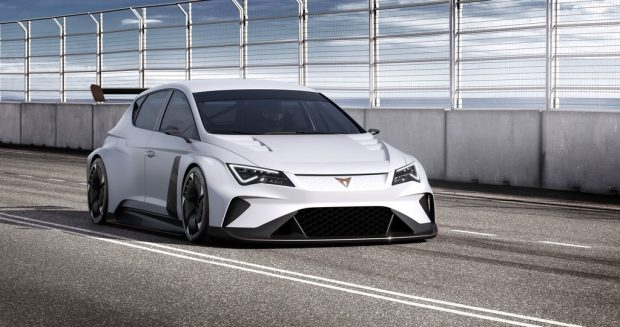 Seat Cupra e-Racer.