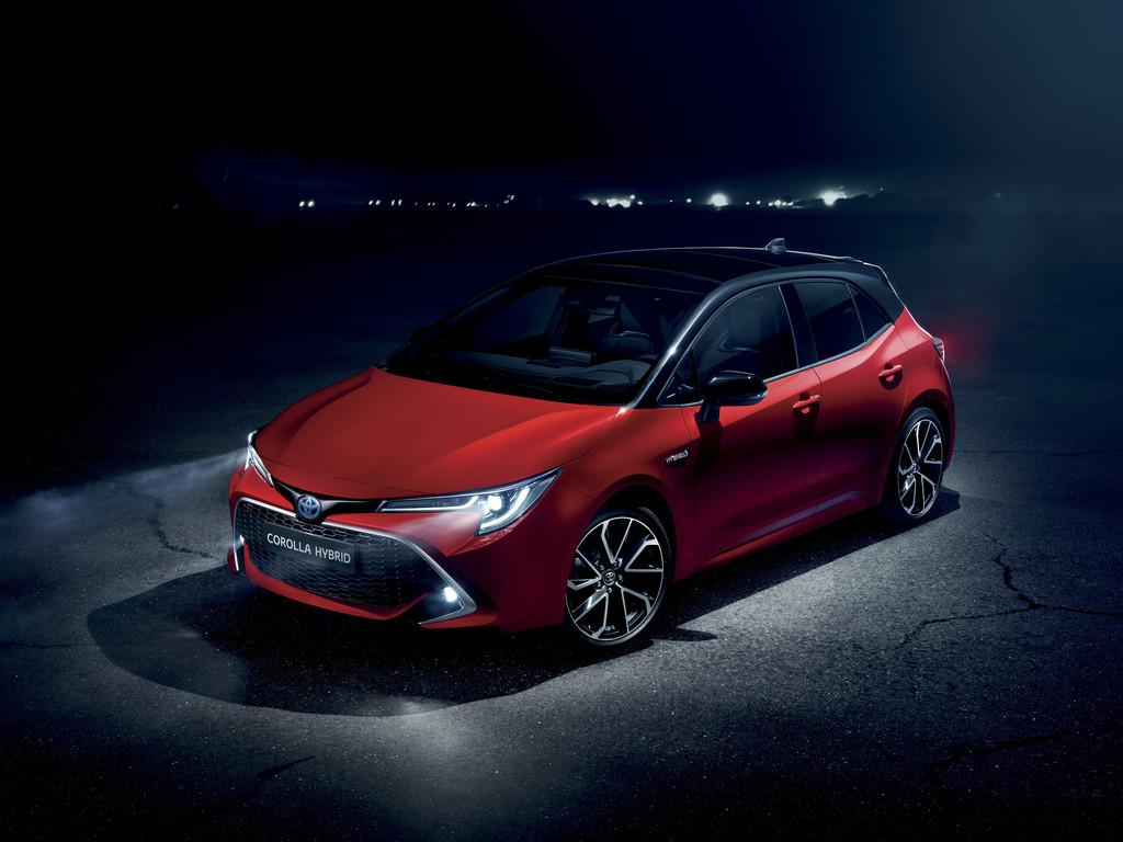 Toyota Corolla Hybrid.