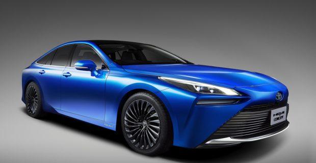 Der Toyota Mirai soll bis zu 30 Prozent mehr schaffen
