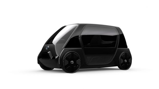 Toyota Ultra Compact EEV Business Concept E-Scooter.