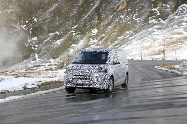 Erlkönig: Der Volkswagen T7 kommt
