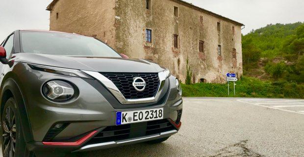 Kleiner Hingucker: das neue Kompakt-SUV von Nissan.