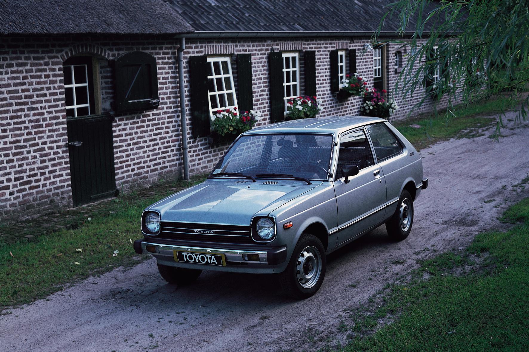 Der Kleinwagen Publica wird von 1971 bis 1978 als Toyota 1000 in Europa als Limousine und Kombi angeboten und ist in der Sammlung zu bewundern.