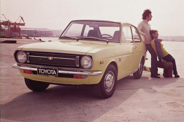 Der Starlet ersetzt 1978 als Schrägheck und Kombi in Europa den Toyota 1000.