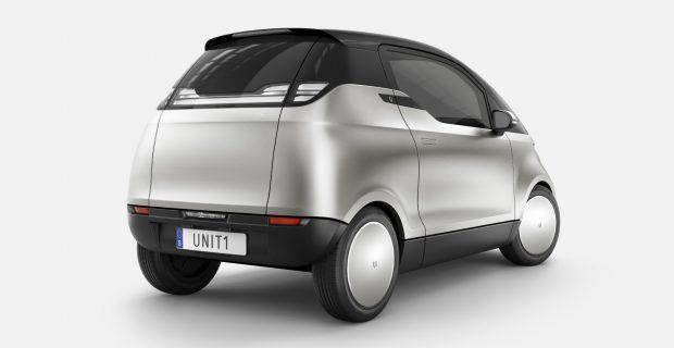 Hoch und schmal: Der One ist als Urban Utility Vehicle für bis zu drei Passagiere konzipiert.