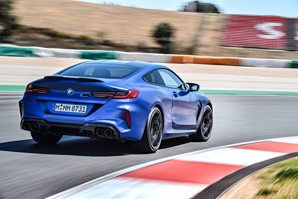 BMW M8 Competition Coupé.