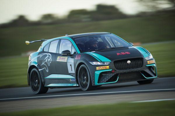 Jaguar I-Pace e-Trophy.