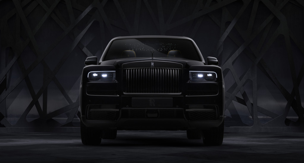 Rolls-Royce Cullinan Black Badge.