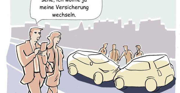 Mehr als die Hälfte der Autofahrer könnten Versicherung wechseln