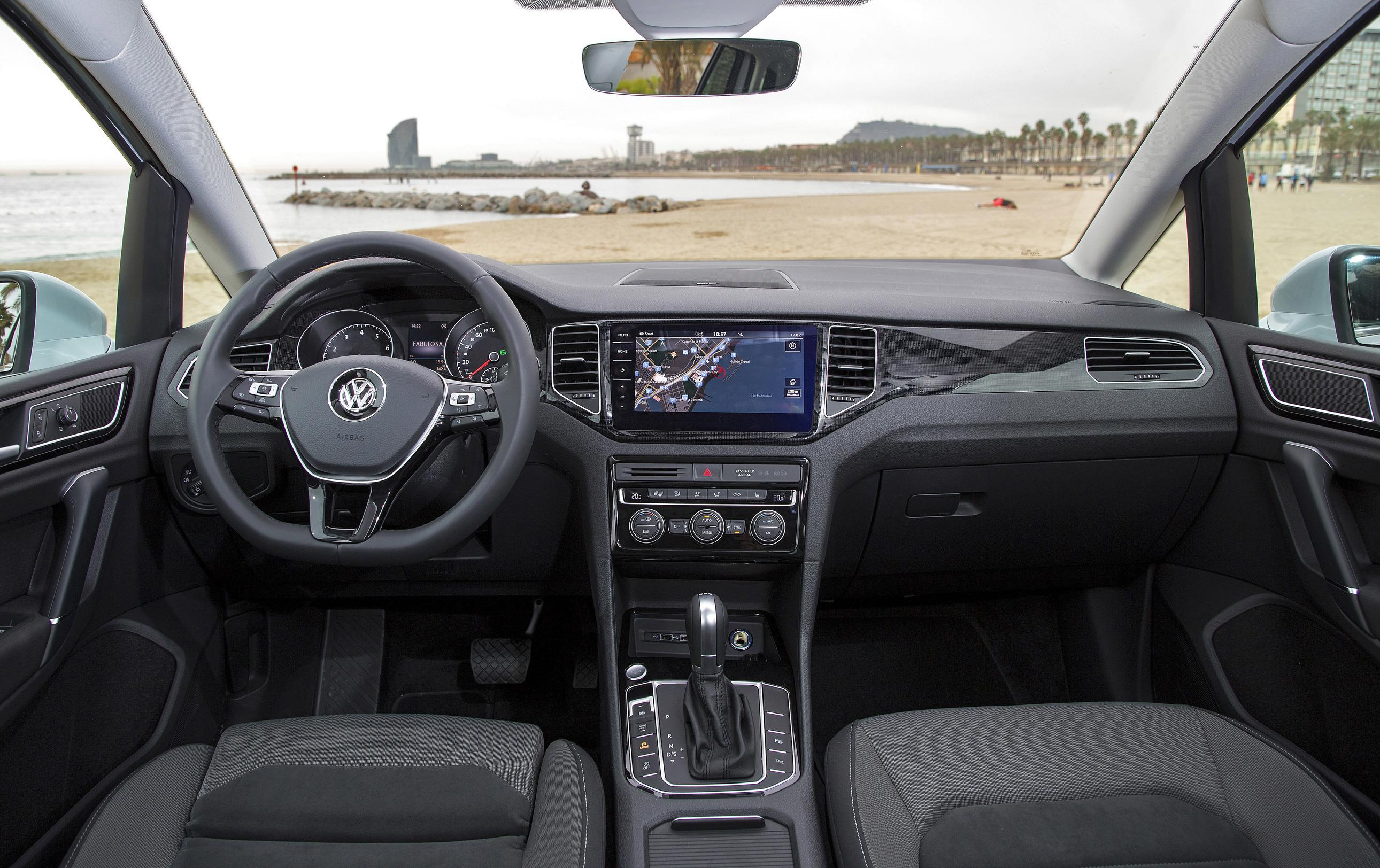 VW Golf Sportsvan.