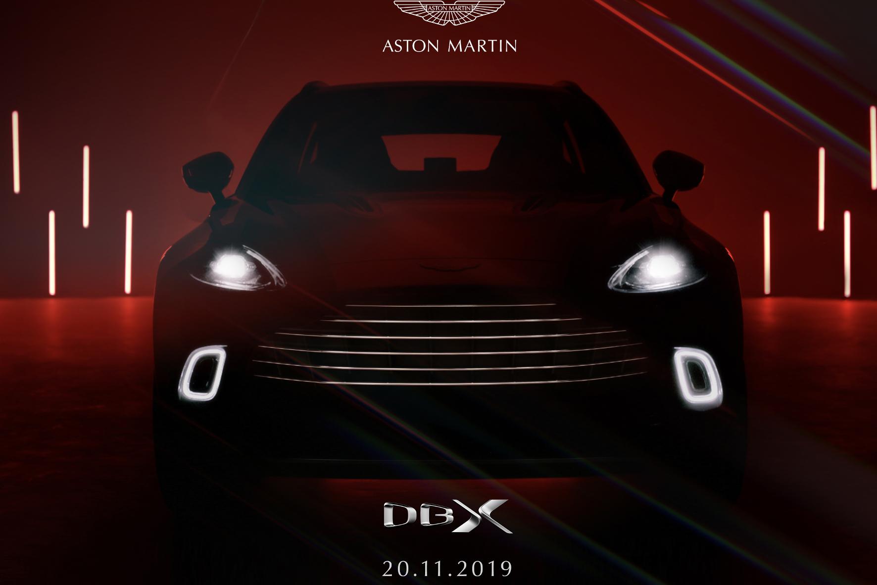 Der DBX ist das erste SUV der Briten.