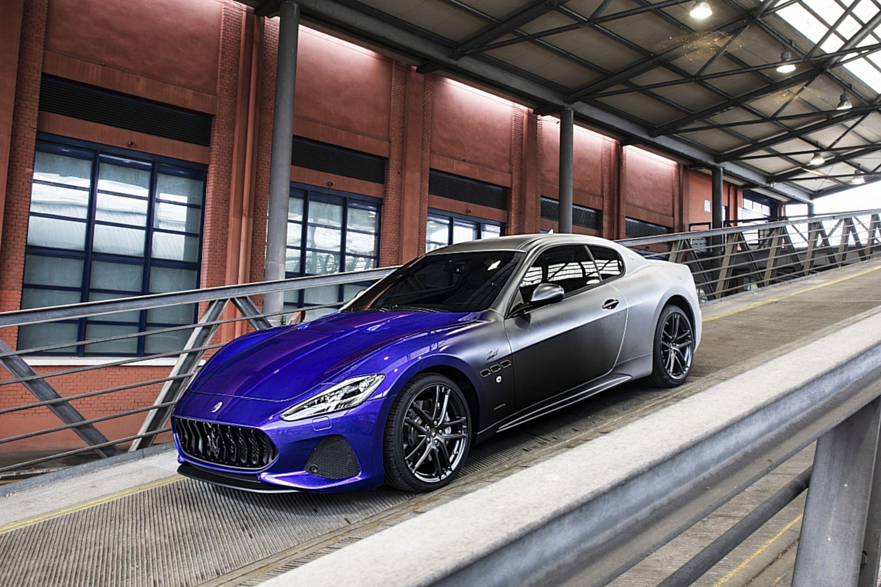 Der Zeta soll durch eine spezielle Farbgebung den Aufbruch von Maserati in die Zukunft symbolisieren.