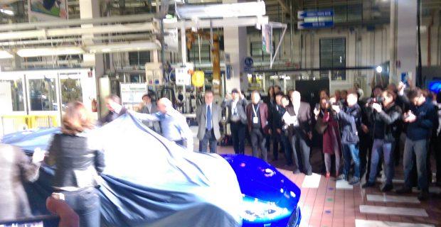 Letzte Enthüllung eines GranTurismo in Modena: Der GT Zéda erblickt an der Fertigungsstraße im Maserati-Werk das Licht der Welt.