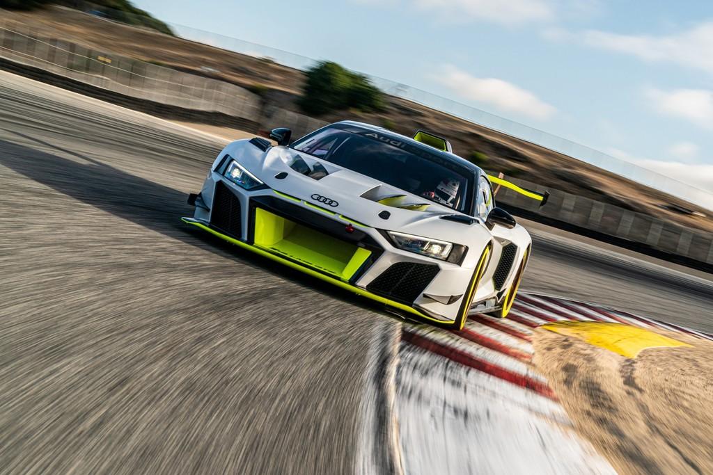 Audi R8 LMS GT2.