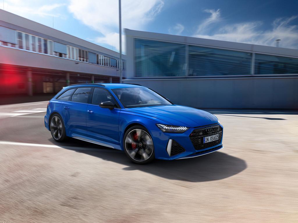 "Audi RS 6 Avant mit Jubiläumsausstattung ""25 Jahre Audi RS""."