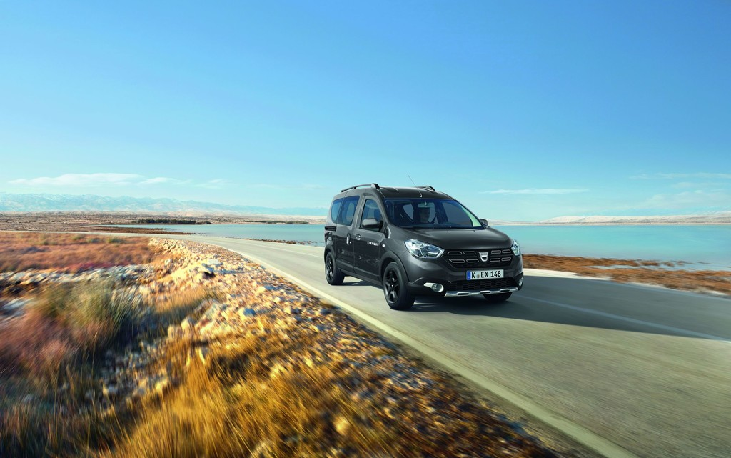 Dacia Dokker Stepway Celebration (2017).