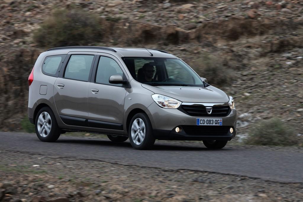Dacia Logan MCV (2014).