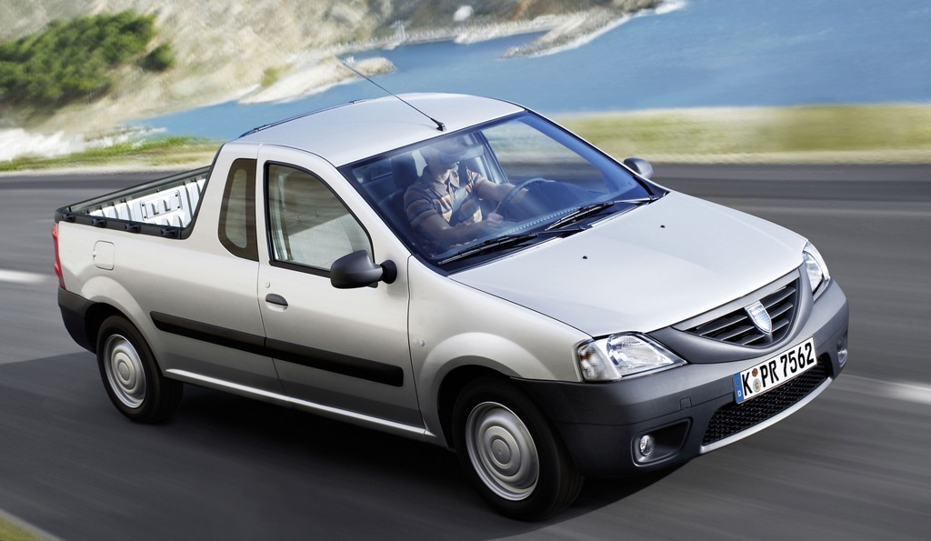 Dacia Logan Pick-up (2010).