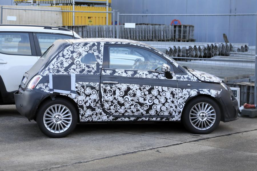 Fiat 500e.