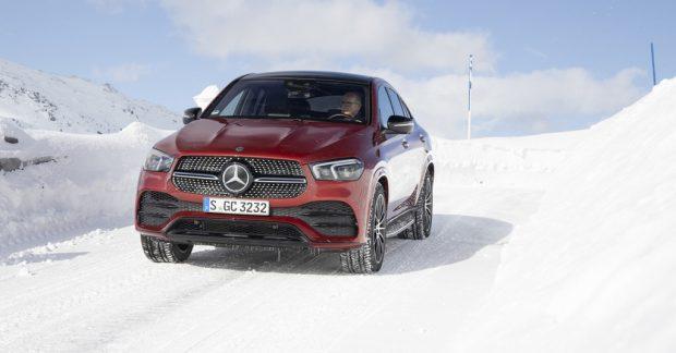 Mercedes-Benz GLE Coupé: Straffer und schöner