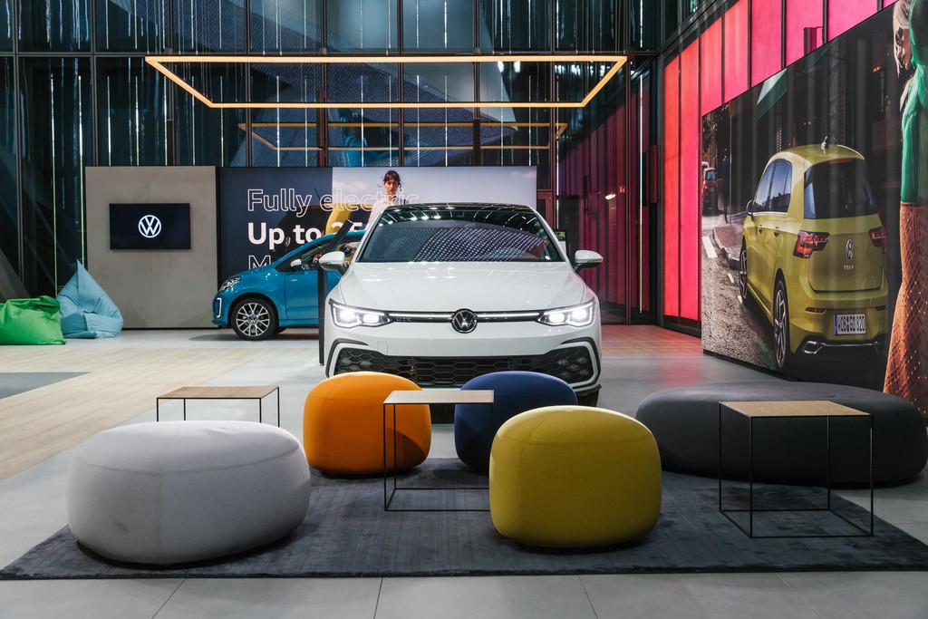 Volkswagen-Pavillon in der Autostadt.