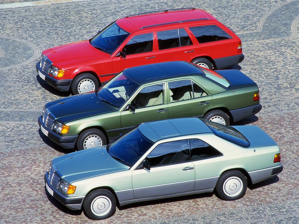 Vor 35 Jahren: Mercedes-Benz W124 als neue Mittelklasse: Coupé, Limousine, T-Modell.