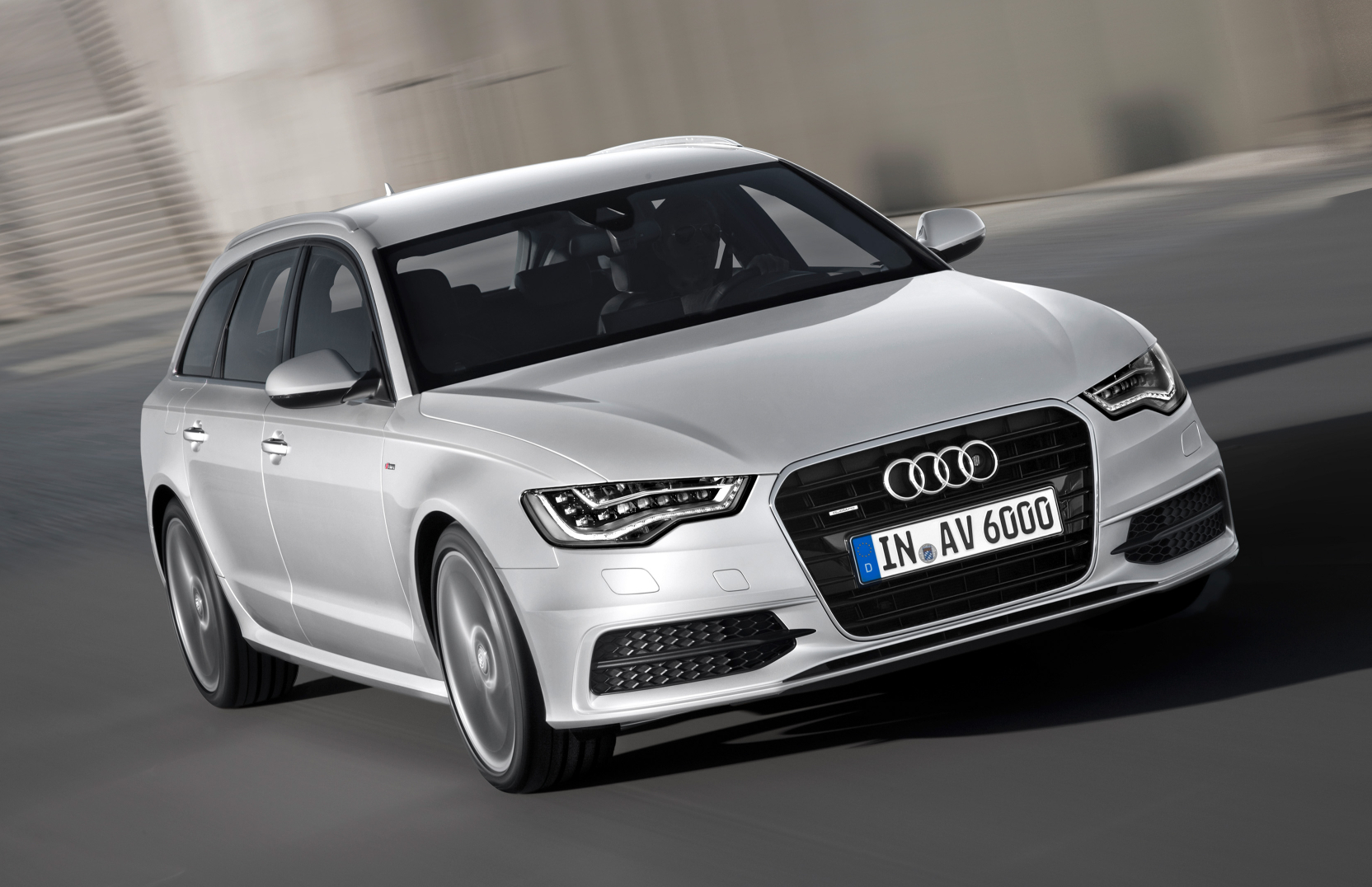 Audi A6 Avant S-Line.