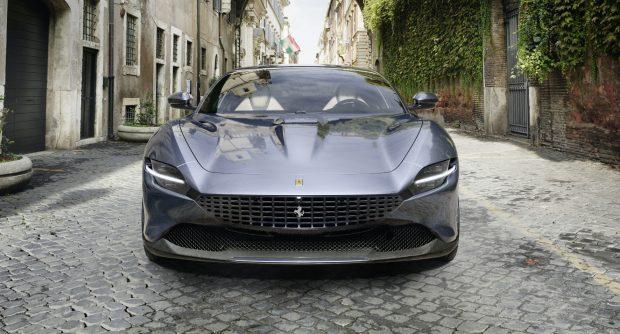Der neue Ferrari Roma soll Eleganz und Sportlichkeit gekonnt vereinen.